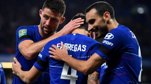 Chelsea 3-2 Derby: Blues win dramatic Carabao Cup tie to reach last eight