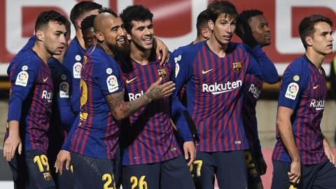 Copa del Rey: Clement Lenglet heads in late Barcelona winner at third-tier Cultural Leonesa