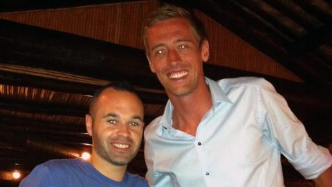 That Peter Crouch Podcast: That Andres Iniesta photo