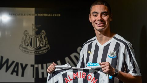 Miguel Almiron: Newcastle United sign playmaker for club record fee of £20m