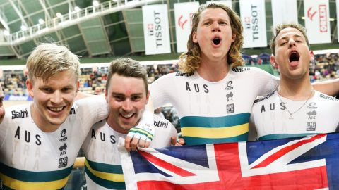 Track Cycling World Championships 2019: Australia beat Great Britain to take double team pursuit gold