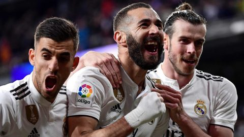 Real Madrid 3-2 Huesca: Karim Benzema scored last-minute winner for hosts