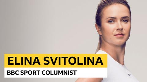 Elina Svitolina column: I hope injury won't threaten Wimbledon hopes