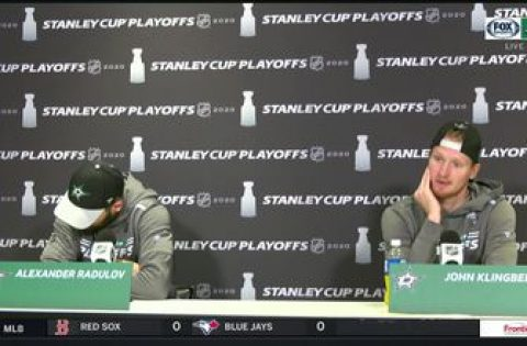 Alexander Radulov and John Klingberg talk Stars Game 7 Win