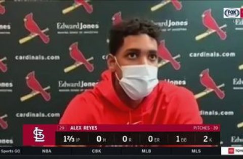 Reyes on being stretched out: 'I'm gonna be out there as long as the manager leaves me out there'