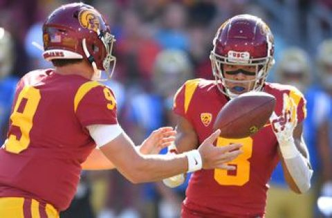 Kedon Slovis and Amon-Ra St. Brown react to the season starting without the Pac-12