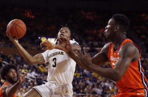 Michigan reinstates Simpson after 1-game suspension