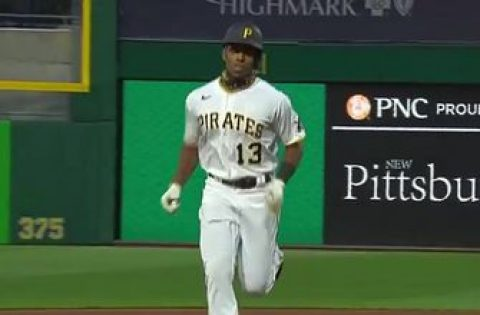 Ke'Bryan Hayes solo shot in the 1st inning gives Pirates 1-0 lead over Cardinals