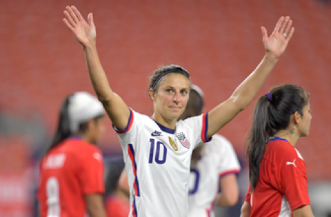 Is Carli Lloyd the greatest USWNT striker of all-time? Heather O'Reilly and Melissa Ortiz weigh in