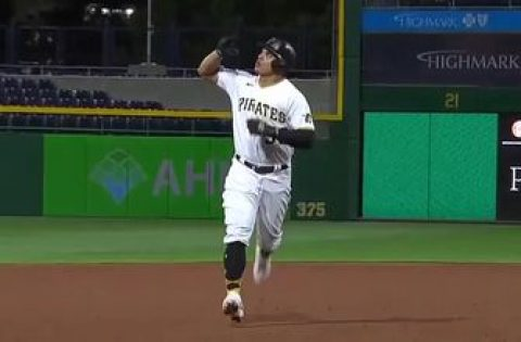 Jose Osuna hits line-drive solo homer to give Pirates a 2-0 lead over Cardinals