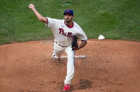 Zach Eflin pitches complete-game shutout, Phillies win 7-0 vs. Blue Jays