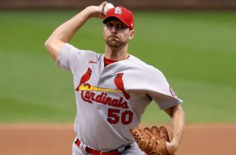 Adam Wainwright tosses complete game, strikes out nine as Cardinals top Brewers, 4-2