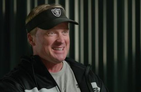 Jon Gruden on the Raiders: Players are 'dying to come and play here'