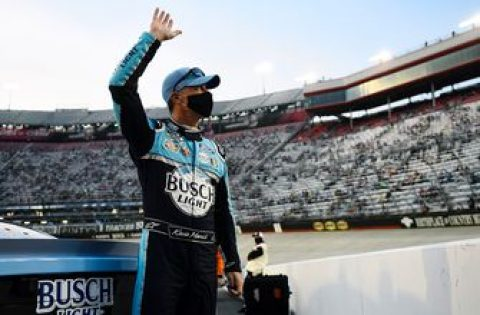 Winners Weekend: Kevin Harvick on his Bristol win and holding off Kyle Busch in the closing laps