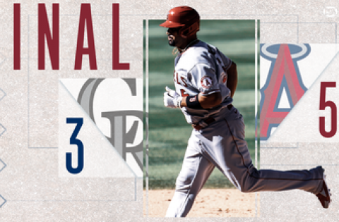 Albert Pujols' 660th Homer Powers the Angels to a 5-3 Win vs Rockies