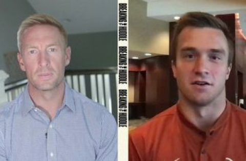 Sam Ehlinger joins Joel Klatt to break down wild Texas comeback vs. Texas Tech