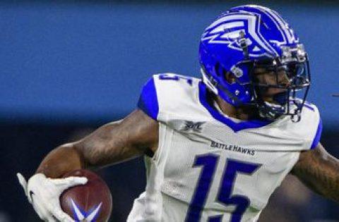 BattleHawks receiver De'Mornay Pierson-El signs with Raiders