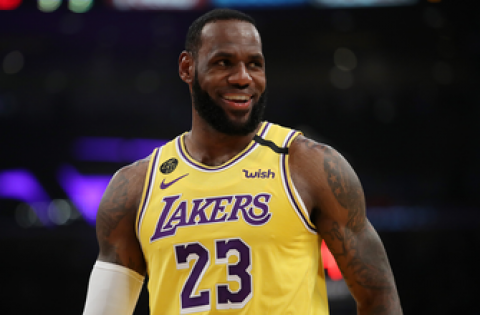 LeBron James remains the face of the NBA during unprecedented times