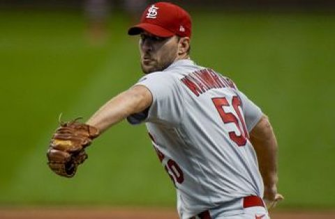 Wainwright on throwing seven-inning complete game: 'That's what I'm supposed to do'