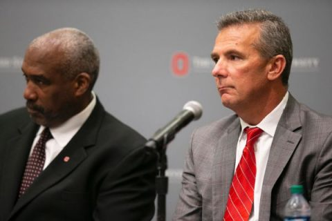Ohio State AD denies report Meyer will step down