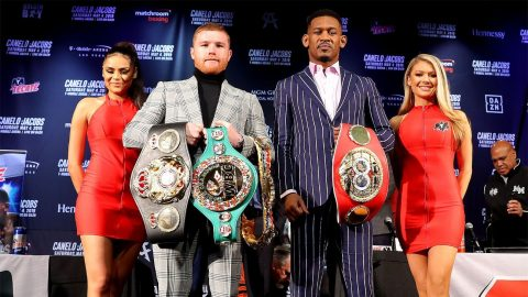 Canelo Alvarez goes for Daniel Jacobs' middleweight belt, goal is to unify division
