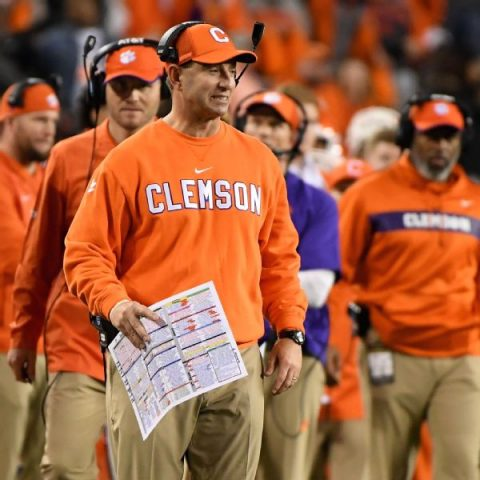 Swinney's CFP rant: 'They don't want us there'
