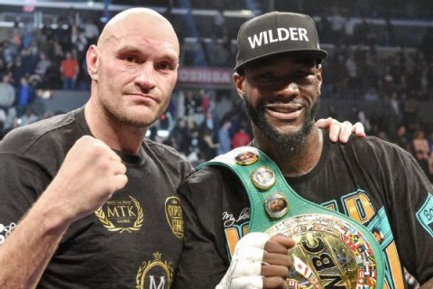 Wilder reveals Fury rematch to come after Ortiz