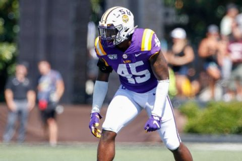 LSU LB Divinity reinstated, to play in title game