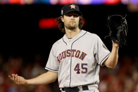 Free agent Cole thanks Astros, fans for support