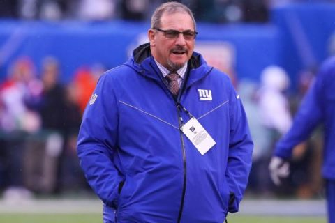 Giants' Gettleman: I'm not doing good enough