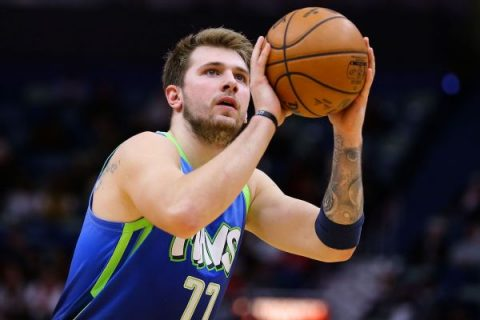 Mavs' Doncic has sprain, out at least 6 games