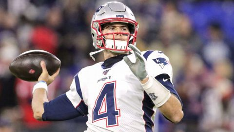 'A stud who knew he was a stud': Stidham's path to New England
