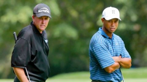 How the Tiger-Phil dynamic could have flipped at Winged Foot — but didn't