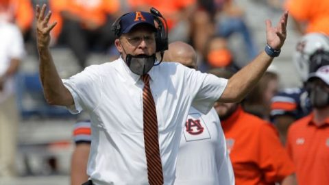 Does a win at Georgia stand between Auburn and playoff contention?