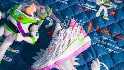 To infinity and a sneaker app: Damian Lillard debuts Buzz Lightyear sneakers