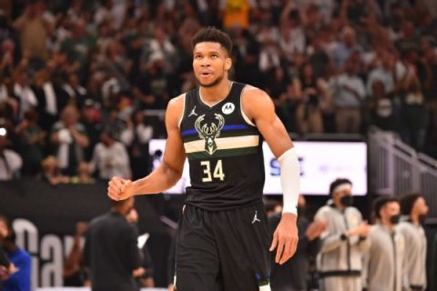 Giannis 'not even close to satisfied' following title