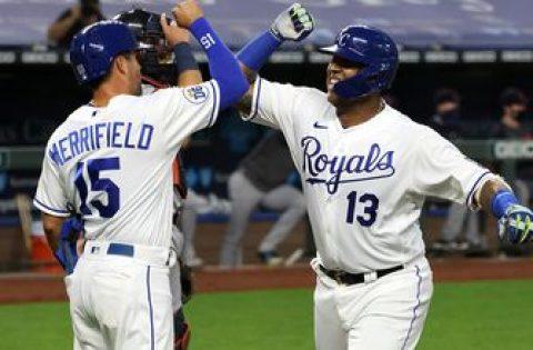 Salvador Perez blasts a three-run homer, Royals lead Tigers, 3-0