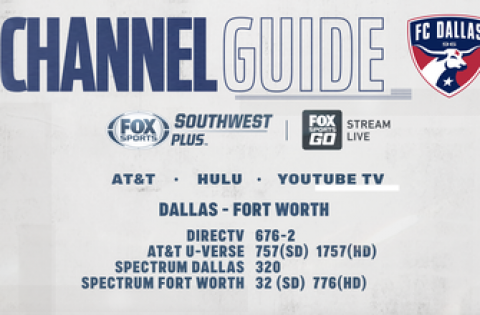 FC Dallas vs Colorado Rapids – Wednesday on FOX Sports Southwest Plus – Channel Listings