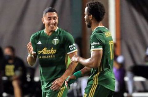 Jeremy Ebobisse header gives Portland Timbers early lead over Philadelphia Union
