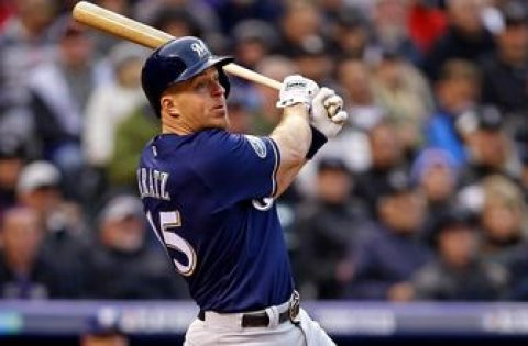 Brewers top Reds, fall to Giants in split-squad action