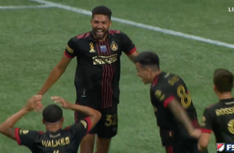 George Campbell's first MLS goal helps Atlanta United grab an early 1-0 lead vs Orlando City SC