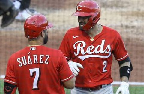 Nick Castellanos clubs 11th home run as Reds edge Pirates, 4-2