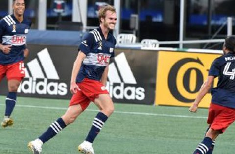 New England Revolution explode in second half, top Montreal Impact, 3-1