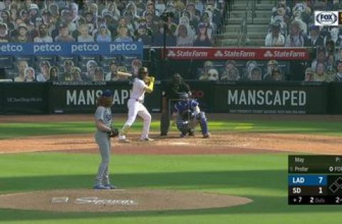 WATCH: Profar & Machado homer, but Padres fall to Dodgers in series finale